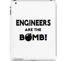 Engineers Are The Bomb! iPad Case/Skin