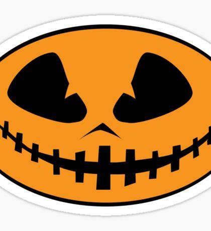 Halloween Jack-O-Lantern Sticker