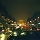 Paris Night Lights by Alberto  DeJesus