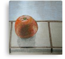 """The lone orange"" Canvas Print"