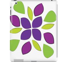 Abstract colorful pedals  iPad Case/Skin