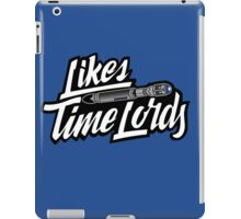 Likes Time Lords iPad Case/Skin