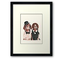 F.I.P. @ifitwags (The pointer brothers) Framed Print
