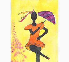 Frevo girl with purple umbrella Unisex T-Shirt