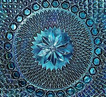 Grandmother's Antique Glass by Kathilee