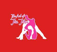 The Art of Jiu Jitsu Rear Triangle Choke Pink  Unisex T-Shirt