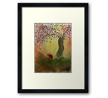 Cherry Blossom Tree of Mine, Our Rising Sun Framed Print