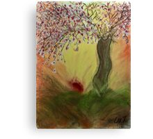 Cherry Blossom Tree of Mine, Our Rising Sun Canvas Print
