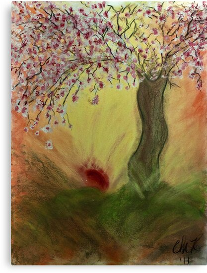 Cherry Blossom Tree of Mine, Our Rising Sun by Christina Rodriguez