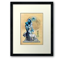 The White Queen's Bishop Framed Print