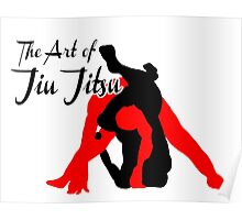 The Art of Jiu Jitsu Rear Triangle Choke  Poster