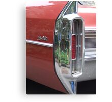 Old Caddy Canvas Print