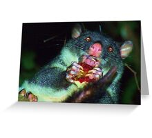 Manners - Eat With Your Mouth Closed Greeting Card
