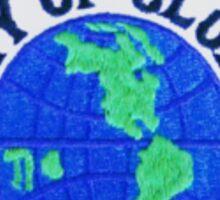 Globe Police Sticker