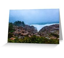 Stormy Day Cape Breton Greeting Card