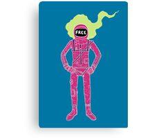 Fire Astronaut Canvas Print