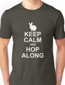 keep calm and hop along Unisex T-Shirt