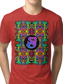 String Cheese Incident - Trippy Pattern 2 Tri-blend T-Shirt