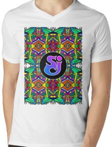String Cheese Incident - Trippy Pattern 2 Mens V-Neck T-Shirt