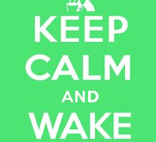 Keep calm and wake up (The Legend of Zelda) by Daxes
