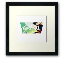 Goku - Dragon Ball Framed Print