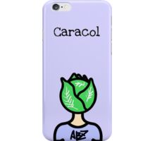 Caracol diseño iPhone Case/Skin