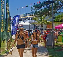 A day at the Quiksilver Roxy Pro by Gavin Lardner