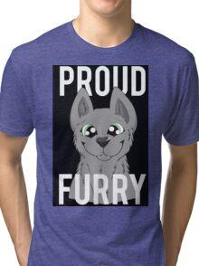 Proud Furry Tri-blend T-Shirt