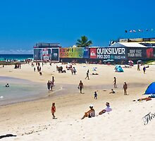 Quiksilver Pro time at Snapper by Gavin Lardner