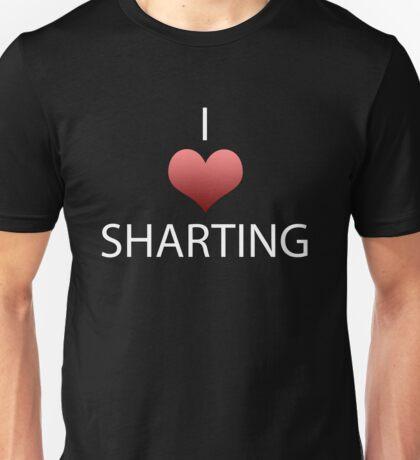 I Heart Sharting Unisex T-Shirt
