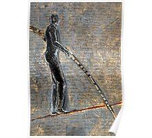 tightrope walker Poster