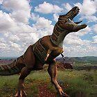 T Rex by artstoreroom
