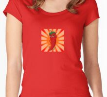 Red Pepper Superstar Women's Fitted Scoop T-Shirt