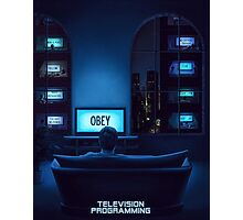 Television Programming Photographic Print