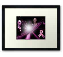 *•.¸♥♥¸.•*Praying For A Cure*•.¸♥♥¸.•* Framed Print