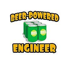 Beer Powered Engineer Photographic Print