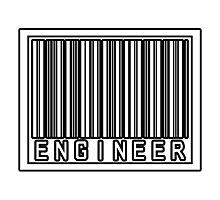 Barcode Engineer Photographic Print