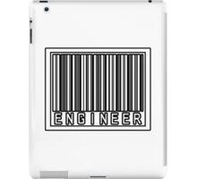 Barcode Engineer iPad Case/Skin