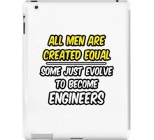 Funny Engineer ... Evolved iPad Case/Skin