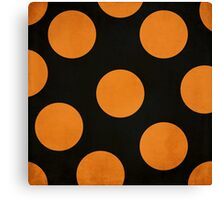 Halloween Dots Canvas Print