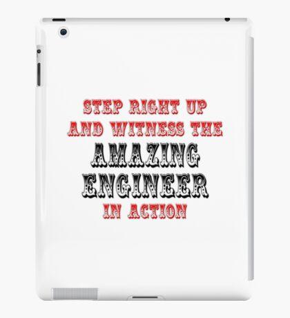 Amazing Engineer In Action iPad Case/Skin