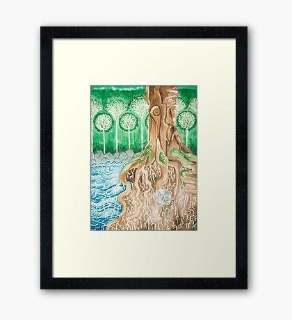 Overgrown Framed Print