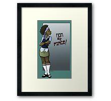 I Don't Like... Framed Print