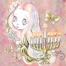 Sweet Menorah Girl by TenshiNoYume