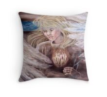 The Vision - Cannon Beach, OR Throw Pillow