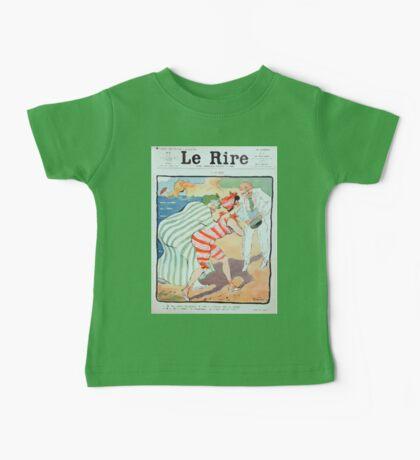 Jules Alexandre Grün Rire Beach Baby Tee