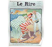 Jules Alexandre Grün Rire Beach Poster