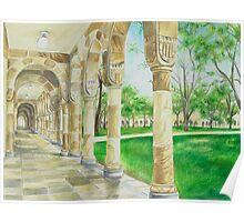 UQ Great Court Poster