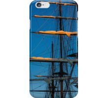 Setting Through The Masts iPhone Case/Skin