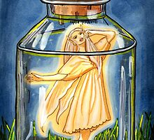 Captured - Fairy Art by CarolOchs